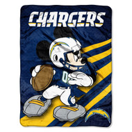 Disney Mickey San Diego Chargers Blanket