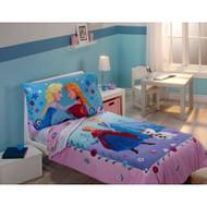 Disney Frozen 4pc Toddler Bedding Set