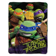 Nickelodeon Teenage Mutant Ninja Turtles Throw