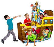 Playhut Jake and the Neverland Pirates Coconut Shooter Play Tent