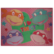 Nickelodeon TMNT Nylon Room Rug