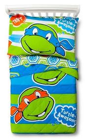 Teenage Mutant Ninja Turtles 4pcs Toddler Bedding Set