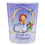Disney Sofia the First Sweet as a Princess Wastebasket