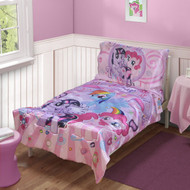 My Little Pony 4pc Toddler Bedding Set