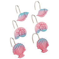 Disney Little Mermaid Shower Curtain Hooks 12-pk.