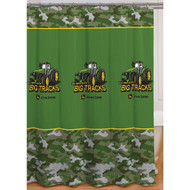 John Deere Big Tracks Fabric Shower Curtain