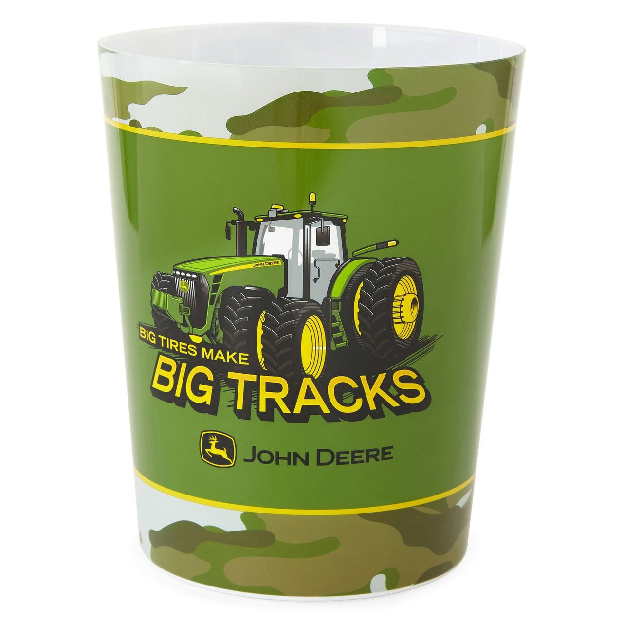 John Deere Bathroom Decor: John Deere Big Tracks Wastebasket, 8 In X 10 In