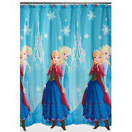 Disney Frozen Elsa and Anna Fabric Shower Curtain