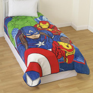 "Marvel Avengers ""Age of Ultron"" Twin Size Throw Blanket"