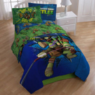 "Nickelodeon Teenage Mutant Ninja Turtles ""Shell Up"" Twin Size Sheet Set"