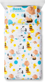 "Peanuts Movie ""Best Friends"" Twin Sheet Set"