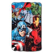 Marvel Avengers Twin/Full Plush Blanket