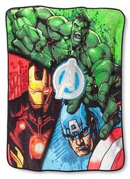 Marvel Avengers Assemble Plush Throw Blanket
