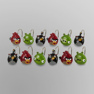 Angry Birds Shower Curtain Hooks
