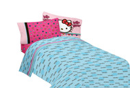"Hello Kitty ""Free Time"" Twin Sheet Set"