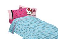 """Hello Kitty """"Free Time"""" Full Size Sheet Set"""