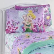 "Disney Fairies ""Faires Tink Fairies Sweet"" Reversible Pillowcase"