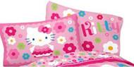 "Hello Kitty ""Daisy Dance"" Reversible Pillowcase"