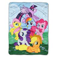 "Hasbro My Little Pony ""Join the Herd"" Throw"
