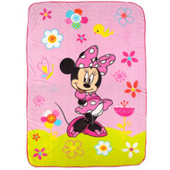 "Disney Minnie Mouse ""Bow-tique"" Blanket"
