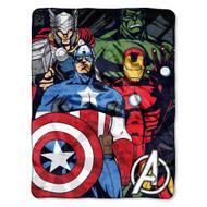 "Marvel ""Avengers Assemble"" Micro Raschel Throw"