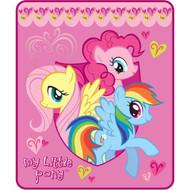 "My Little Pony ""Cuddle Ponies"" Throw"