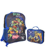 "Nickelodeon Teenage Mutant Ninja Turtles ""Stay Sharp"" Backpack with Lunchbox"