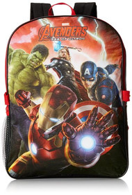Marvel Avengers Backpack with Detachable Lunch Kit