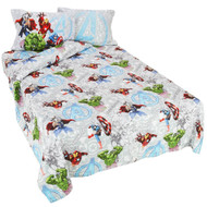 Marvel Avengers Twin Sheet Set