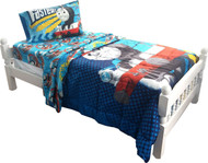 "Thomas the Tank Engine ""Faster Tank Engine"" Twin/Full Bed Comforter"