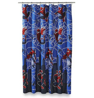 Marvel Ultimate Spiderman Hero Micro-Fiber Shower Curtain