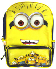 """Despicable Me 2 """"Gru's Minions"""" 16"""" Backpack"""