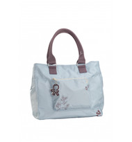 Okiedog Sidamo Versa Diaper Bag, Ashley Blue