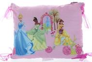 Disney Royal Princess Decorative Pillow with Ribbons