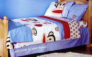 Julius and Friends 'Paul Frank Is Your Friend' 4-Piece Full Sheet Set