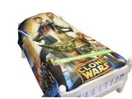 Star Wars Clone Wars Full Size Comforter - Includes Bonus Tote