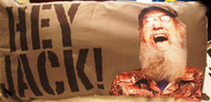 "Duck Dynasty Si Hey Jack King Size 18"" X 36"" Bed Pillow"