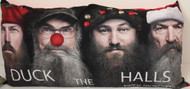 "Duck Dynasty ""Duck The Halls"" Microfiber Body Pillow"
