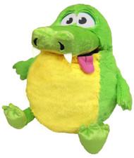 Tummy Stuffers Green Gator Plush Toy