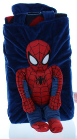 Marvel Spiderman Snuggle Pillow Tote