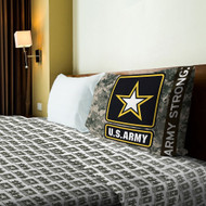 Northwest US Army Armed Forces Twin Sheet Set (Salute Series)