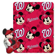 MLB Washington Nationals 40x50-Inch Throw with 14-Inch Hugger