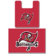 NFL Tampa Bay Buccaneers Two Piece Bath Rug Set