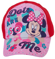 Disney Minnie Mouse Dots are so Me Baseball Cap, 3-6 Years, Red