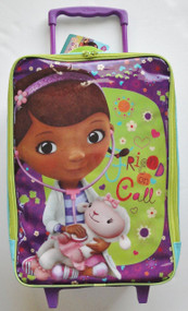 "Disney Doc McStuffins ""Friend on Call"" Light Blue and Green Pilot Case"