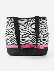 Baby Essential Fashion Zebra Print Diaper Bag