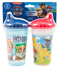 Nickelodeon Paw Patrol Chase and Friends Slim Sippy Cups, Blue, 2 Count