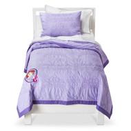 Disney Sofia the First Quilt Set - Purple