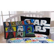 Star Wars Classic Saga Grid Pillowcase