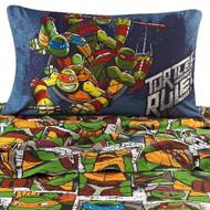 Nickelodeon Teenage Mutant Ninja Turtles 'Dark Ninjas' Sheet Set, Twin